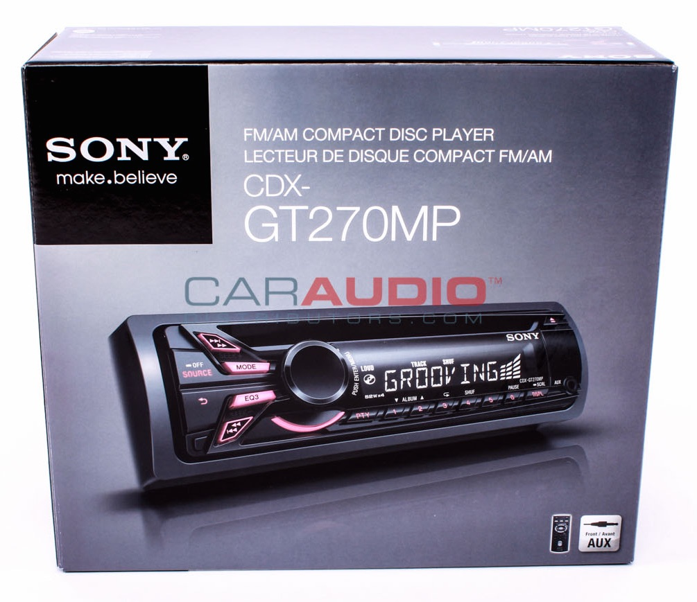 New Sony Cdx Mp3  Wma Aux Input Car Stereo Receiver