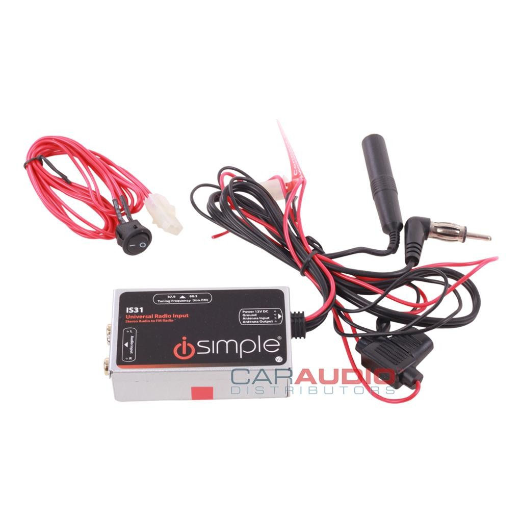 ISimple ISUniversal AUX Audio Input for All FM Radios - m