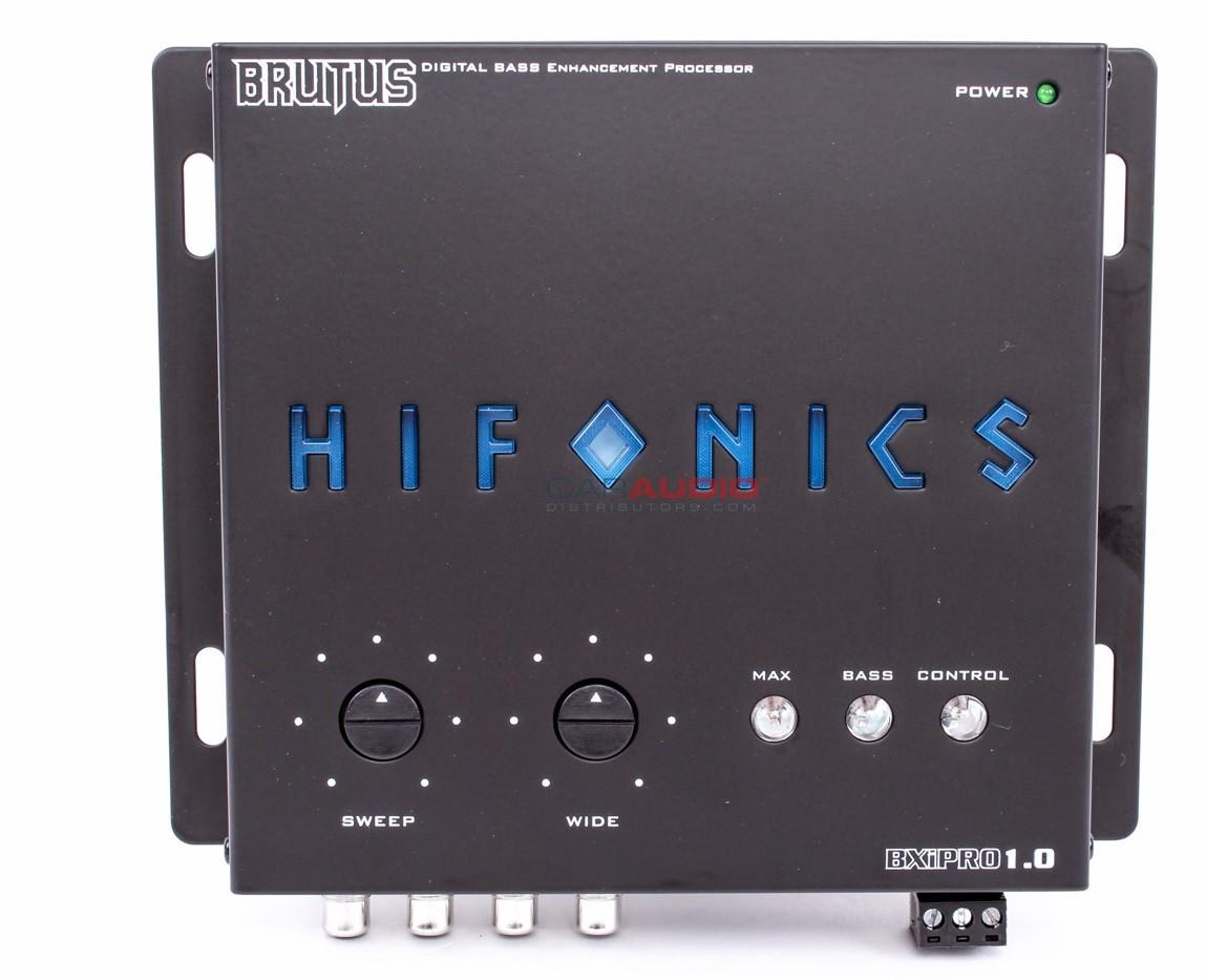 Hifonics BXiPRO BXi PRO Digital Bass EnchancerProcessor