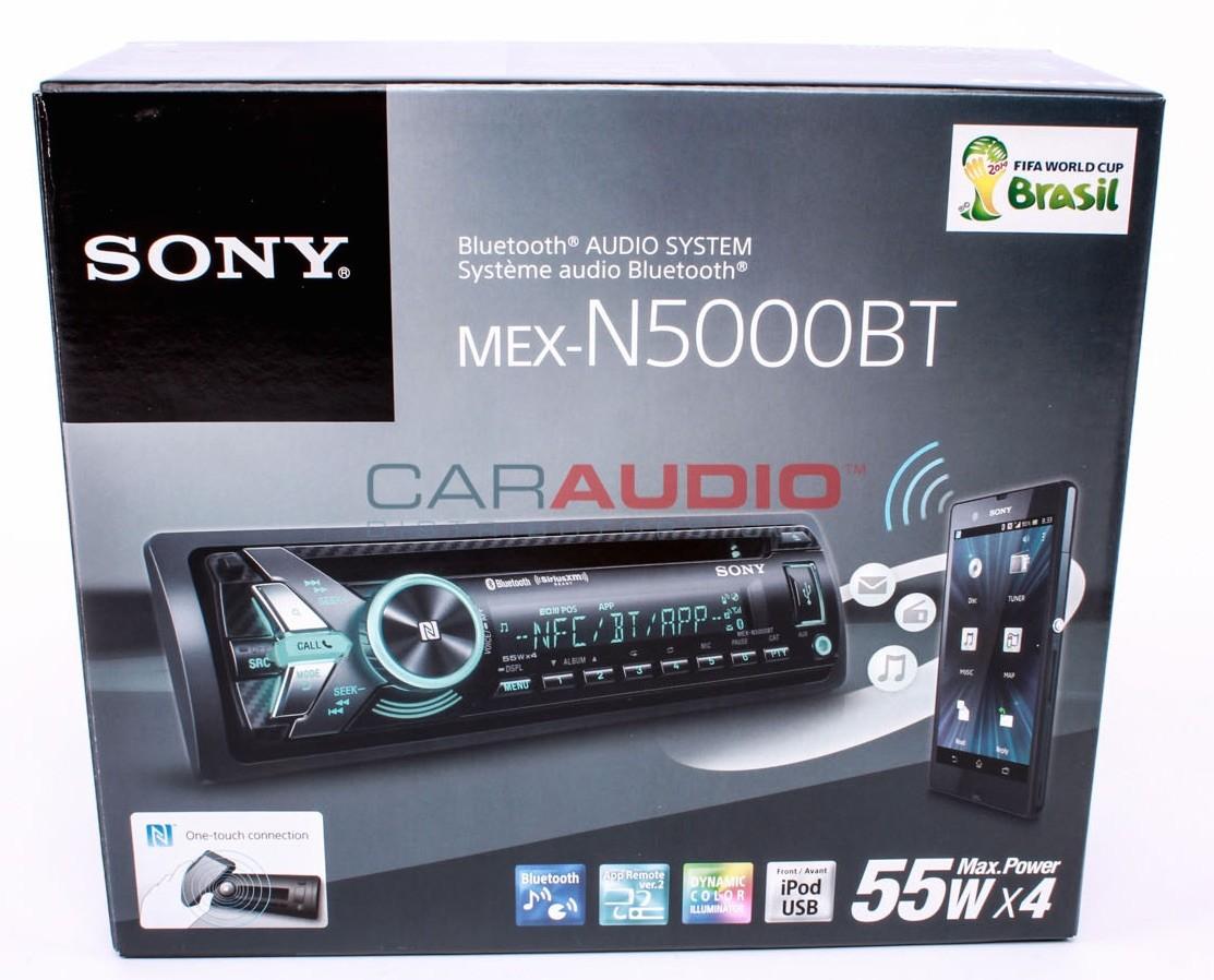 Sony bluetooth car stereo mexbt2500 14