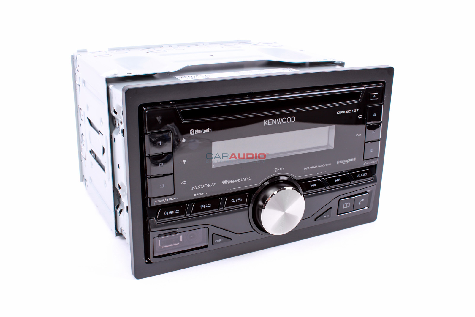 Car Stereo Bluetooth: NEW KENWOOD DPX501BT IN DASH DOUBLE DIN CAR STEREO CD/MP3