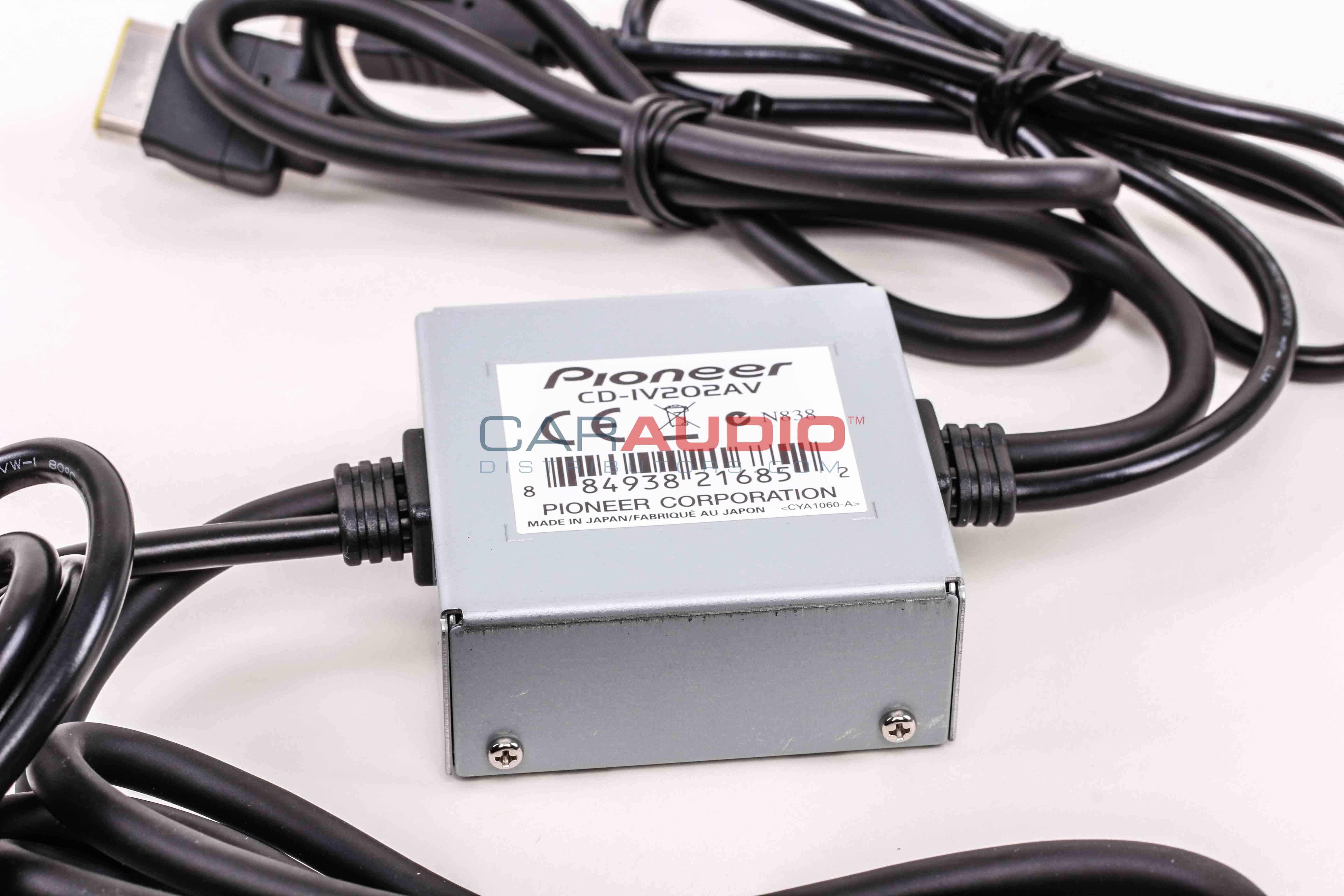 Pioneer Avh X2500bt Wiring Harness