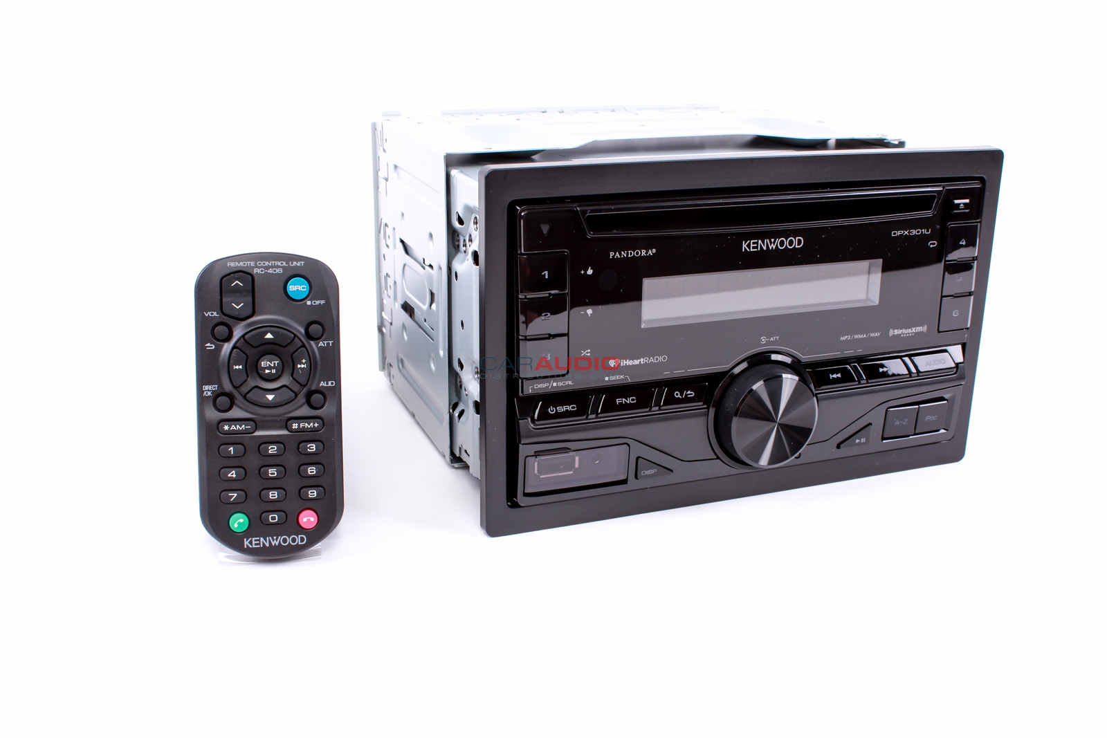 new kenwood dpx301u in dash double din car stereo cd mp3. Black Bedroom Furniture Sets. Home Design Ideas