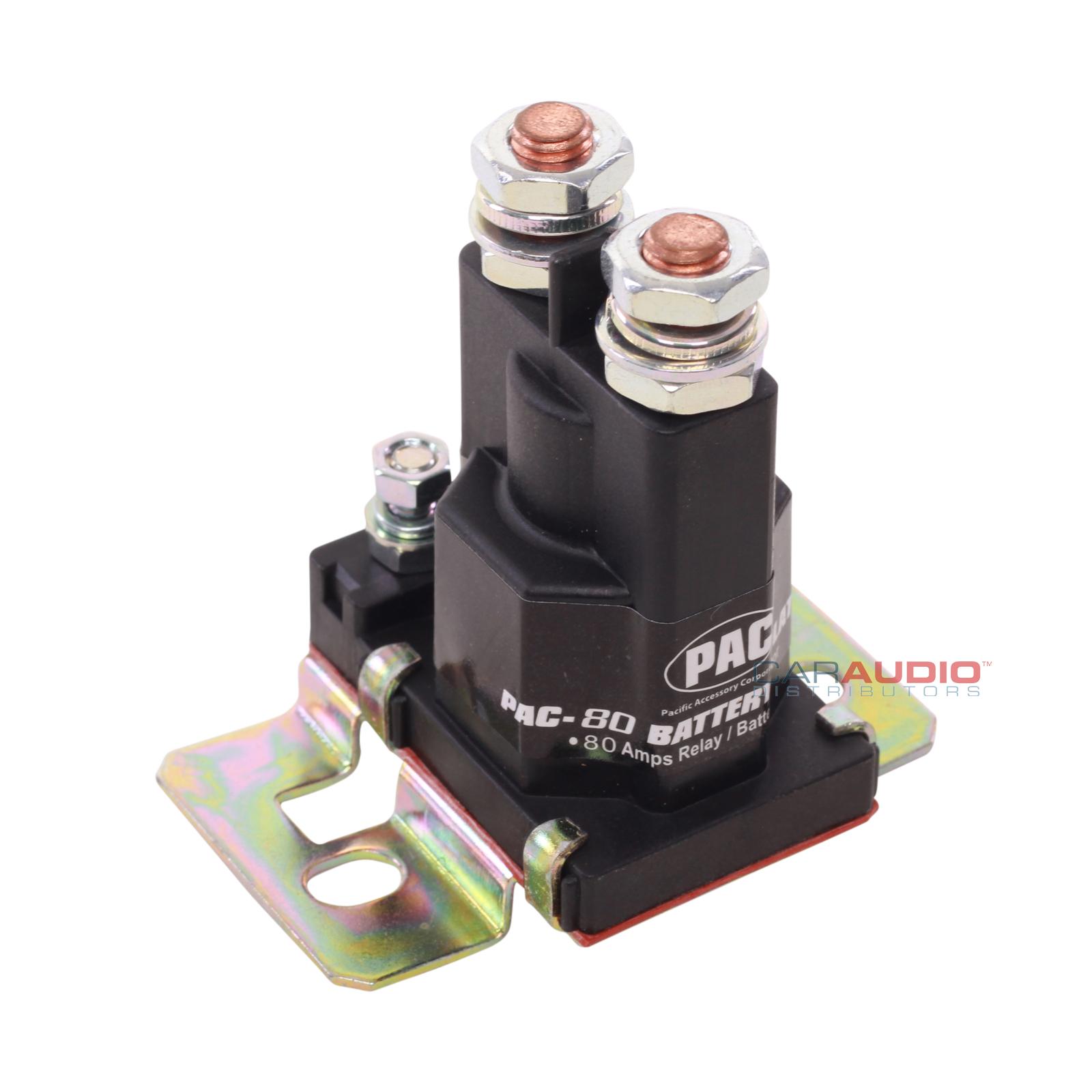 new pac pac-80 80 amp relay / battery isolator | ebay pac 80 isolator wiring diagram #7