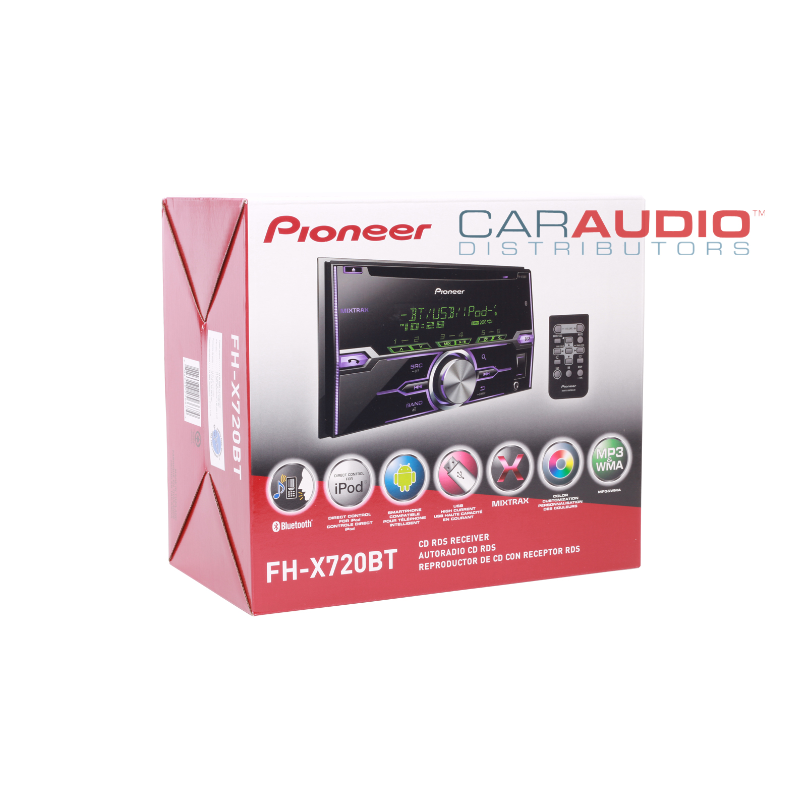New Pioneer Fh Mp3  Bluetooth Receiver