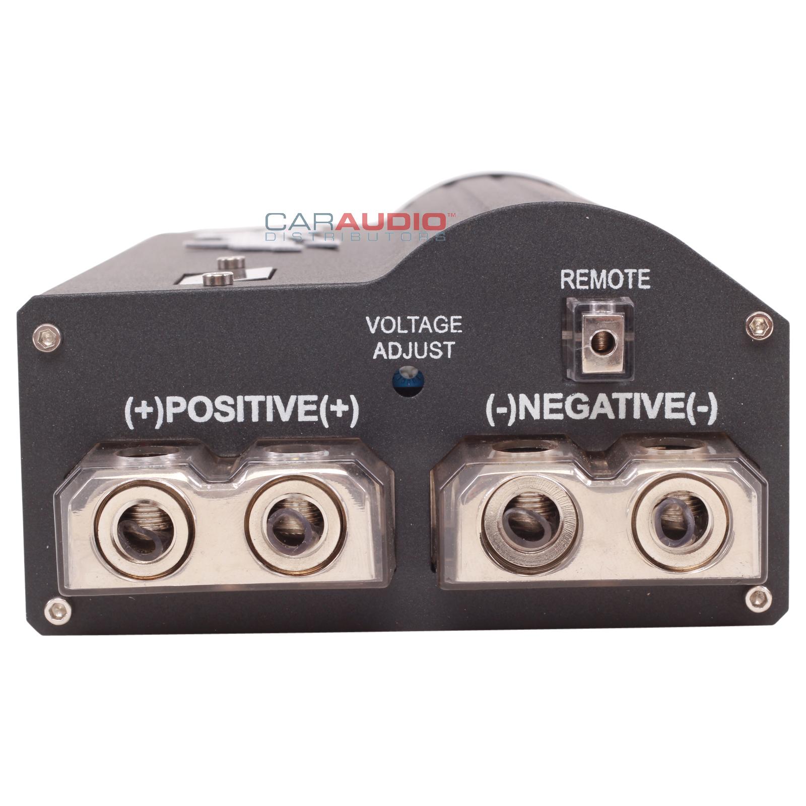 Stinger power capacitor – Car speakers, audio system