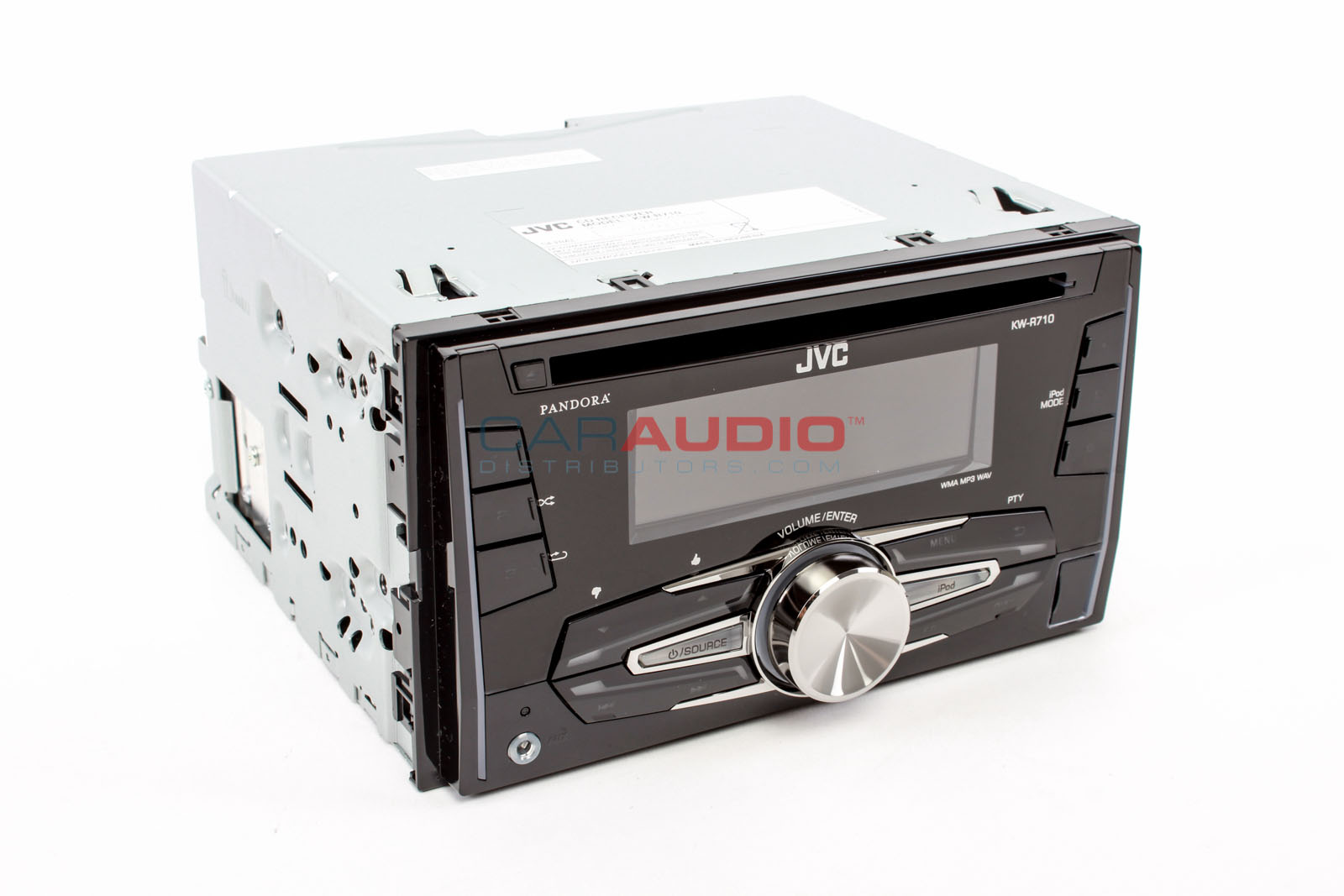 new jvc kw r710 in dash double din car stereo cd mp3 usb. Black Bedroom Furniture Sets. Home Design Ideas