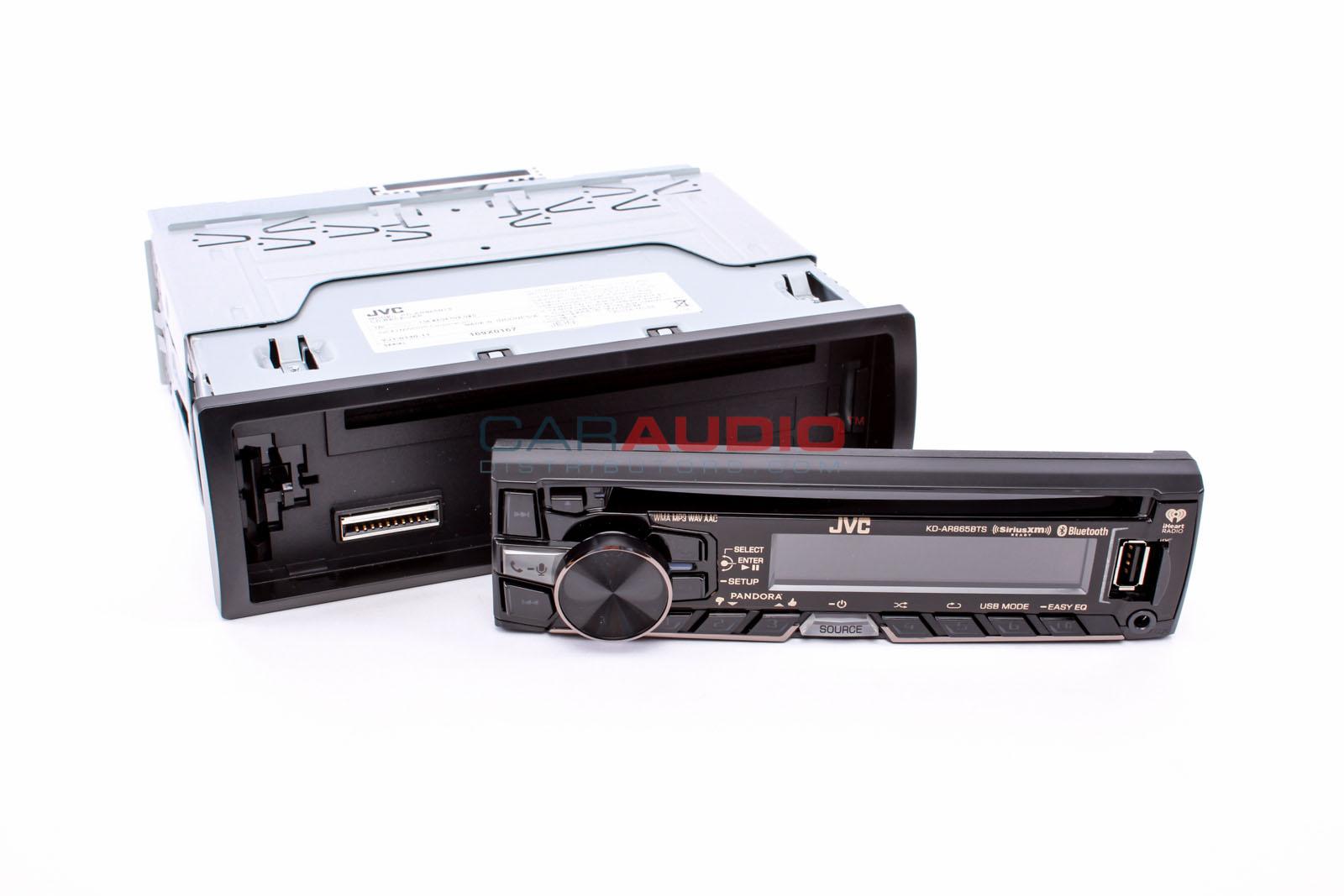 new jvc kd ar865bts in dash single din car stereo cd mp3. Black Bedroom Furniture Sets. Home Design Ideas