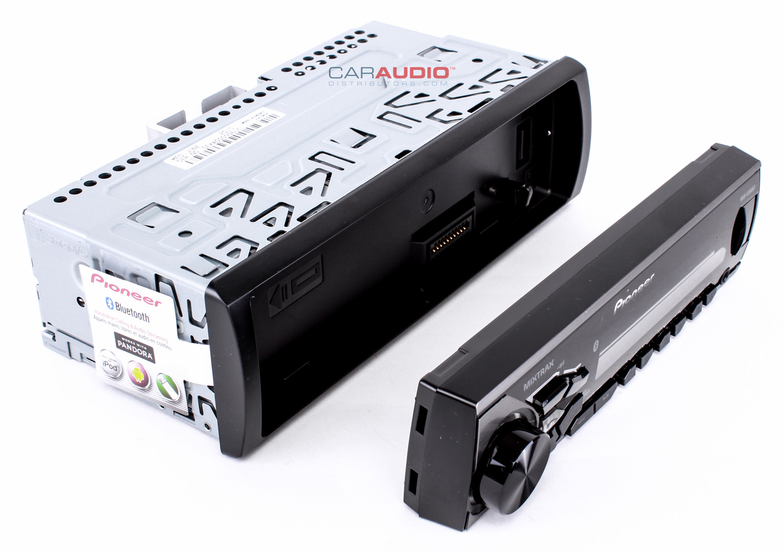 Car Stereo Bluetooth: PIONEER MVH-X380BT SINGLE DIN DIGITAL MEDIA MP3 BLUETOOTH
