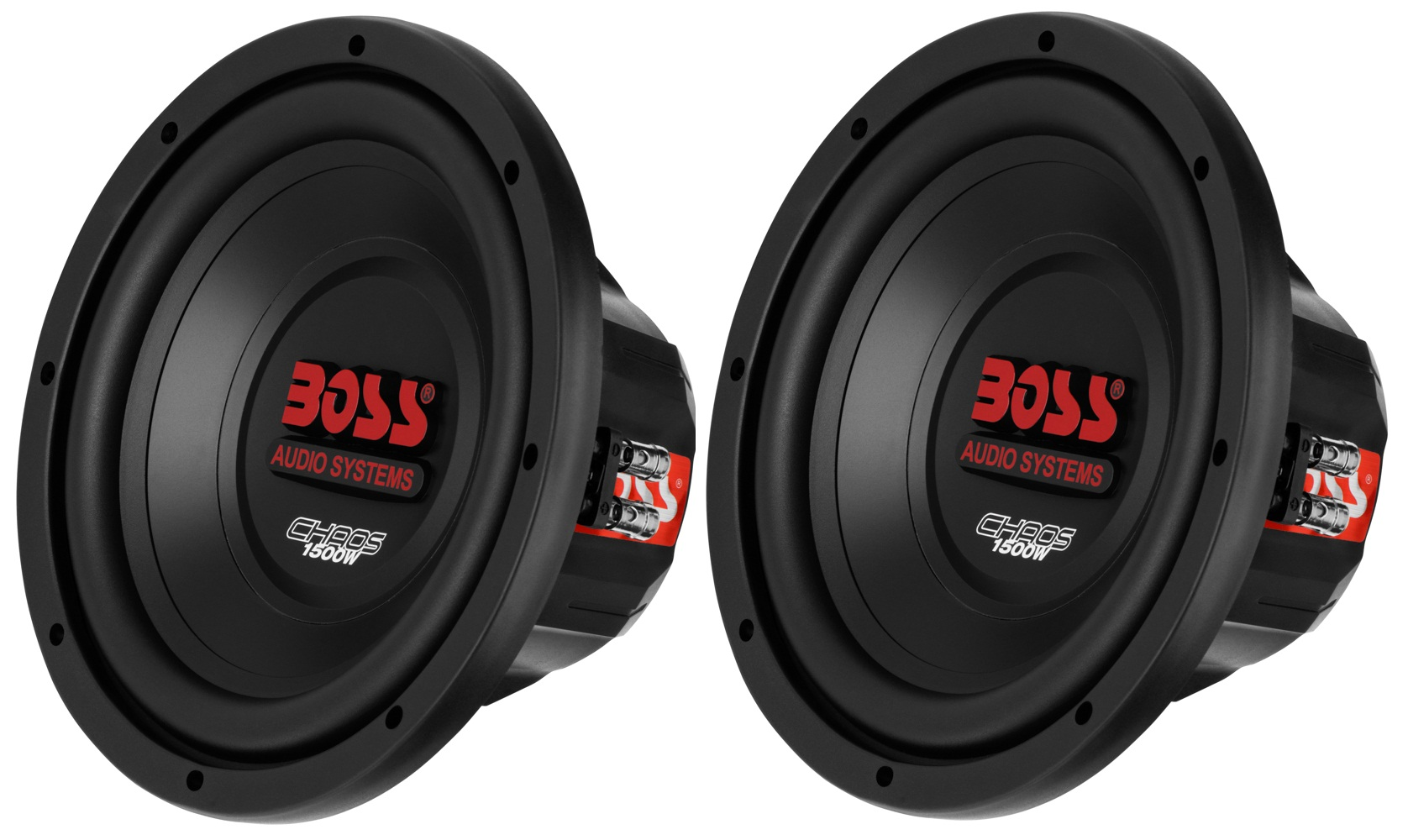 2 new boss audio ch10dvc 10 inch dual voice coil 4 ohm. Black Bedroom Furniture Sets. Home Design Ideas